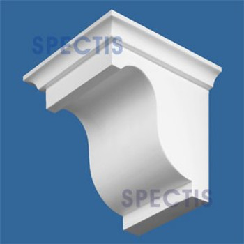 "BL2571 Corbel Block or Eave Bracket 5""W x 6""H x 6.5"" P"