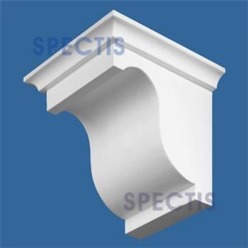 "BL2571R-6.5/12 Pitch Corbel or Eave Bracket 5.5""W x 6""H x 6.5"" P"