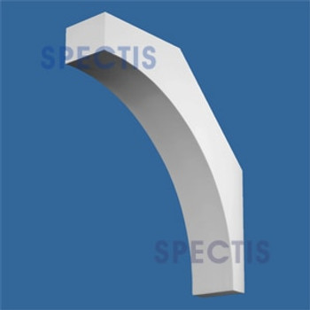 "BL2577 Corbel Block or Eave Bracket 4""W x 16.5""H x 18"" P"