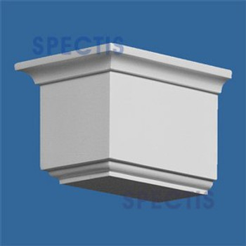 "BL2595 Corbel Block or Eave Bracket 4.75""W x 4.12""H x 6.2"" P"