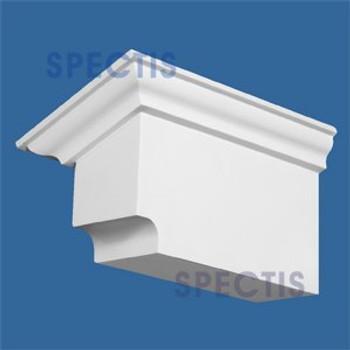 "BL2609L-5/12 Corbel Block or Eave Bracket 4""W x 5""H x 9"" P"