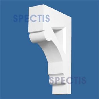 "BL2626 Corbel Block or Eave Bracket 3""W x 13.75""H x 8.6"" P"