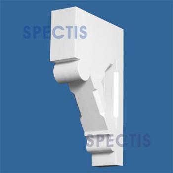 "BL2627 Corbel Block or Eave Bracket 3""W x 14.9""H x 9.2"" P"