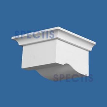 "BL2630 Corbel Block or Eave Bracket 5.5""W x 3.125""H x 5.4"" P"