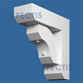 "BL2665 Corbel Block or Eave Bracket 6""W x 17.5""H x 17.5"" P"