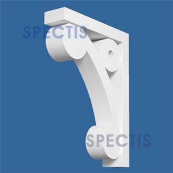 "BL2686 Corbel Block or Eave Bracket 3""W x 16.5""H x 12"" P"
