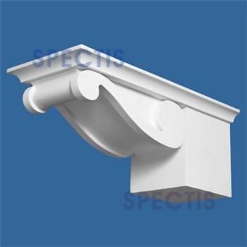 "BL2709 Corbel Block or Eave Bracket 6""W x 4""H x 4"" P"