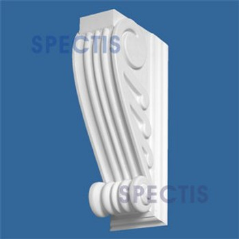 "BL2804 Corbel Block or Eave Bracket 4""W x 16""H x 6.5"" P"