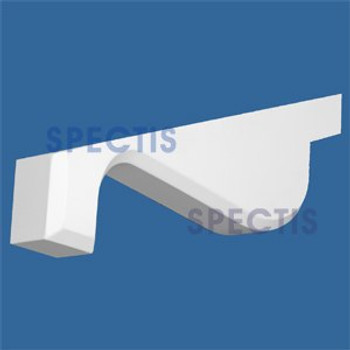 "BL2807 Corbel Block or Eave Bracket 1.5""W x 3""H x 22.75"" P"