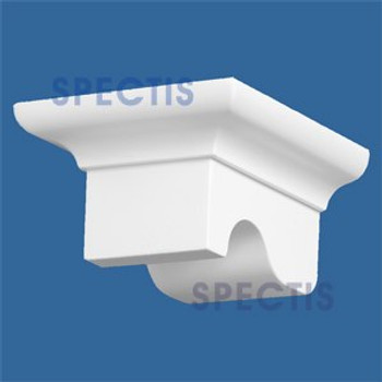 "BL2813 Corbel Block or Eave Bracket 4.5""W x 2.8""H x 5.1"" P"