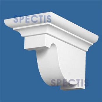 "BL2834 Corbel Block or Eave Bracket 6.5""W x 6.5""H x 10.75"" P"