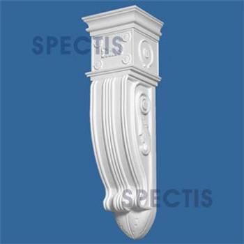 "BL2837 Corbel Block or Eave Bracket 10.5""W x 36""H x 9.5"" P"