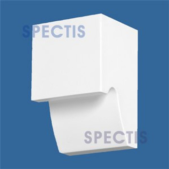 "BL2840 Corbel Block or Eave Bracket 3.6""W x 5.5""H x 3.1"" P"