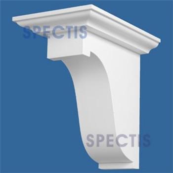"BL2846 Corbel Block or Eave Bracket 7.25""W x 11.25""H x 11.25"" P"