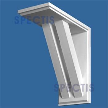 "BL2852 Corbel Block or Eave Bracket 12""W x 26""H x 24"" P"