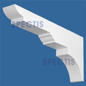 "BL2867 Corbel Block or Eave Bracket 4""W x 13""H x 29.5"" P"
