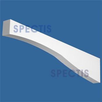 "BL2870 Corbel Block or Eave Bracket 2""W x 6.5""H x 34"" P"