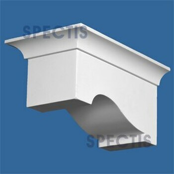 """BL2905L-6/12 Pitch Corbel or Eave Bracket 6""""W x 5""""H x 9.75"""" P"""