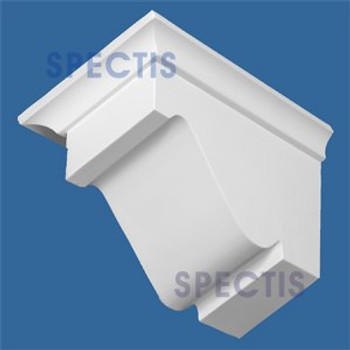 "BL2909R-7/12 Pitch Corbel or Eave Bracket 5.3""W x 7.75""H x 12"" P"