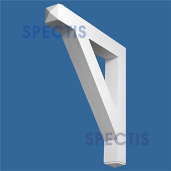 "BL2928 Corbel Block or Eave Bracket 3.5""W x 27.5""H x 25"" P"