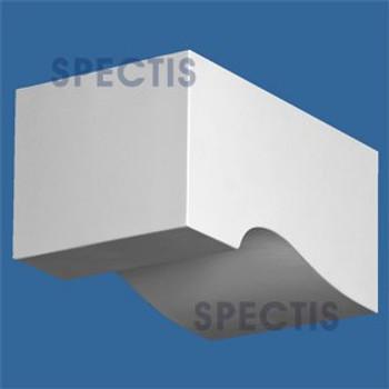 "BL2936 Corbel Block or Eave Bracket 6""W x 5.2""H x 10"" P"