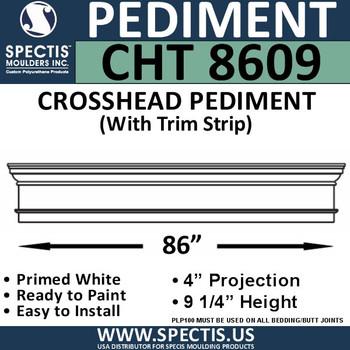 """CHT8609 Crosshead with Trim Strip 86 3/4"""" X 9 1/4"""""""