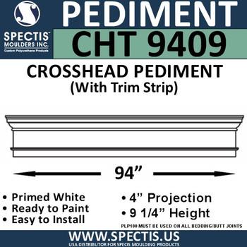 """CHT9409 Crosshead with Trim Strip 94 3/4"""" X 9 1/4"""""""