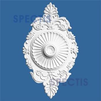 """CM1221 12"""" x 21"""" Oblong Ceiling Medallion"""