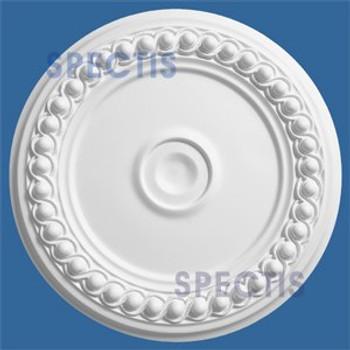 "CM1313R 12"" Round Decorative Ceiling Medallion 1 1/8"" Hole"