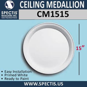 "CM1515 Decorative Ceiling Medallion 15"" Round"