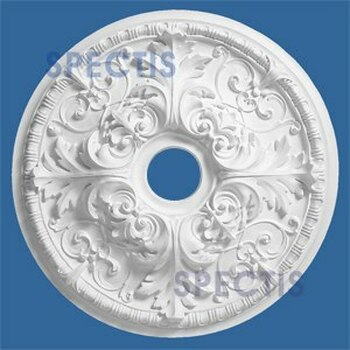 "CM2121FL-21 21"" Round Decorative Ceiling Medallion"