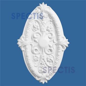 """CM2717 Oblong Decorative Ceiling Medallion 27"""" x 17.5"""""""