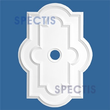 "CM3042 29 3/4"" x 41 5/8"" Rectangle Ceiling Medallion 4"" Hole"