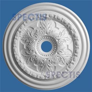 "CM3232AL-32 32.5"" Round Decorative Ceiling Medallion 4"" Hole"