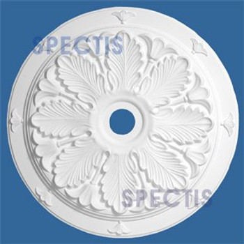 "CM3636 36"" Round Decorative Leaf Pattern Ceiling Medallion 4"" Hole"