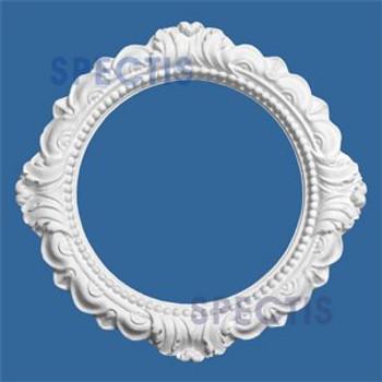"CM99BF 9 1/8"" Round Decorative Ceiling Medallion Ring 5 7/8"" Hole"