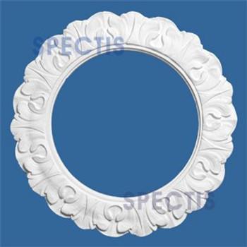 "CM99L 9"" Round Decorative Ceiling Ring Medallion 5 7/8"" Hole"