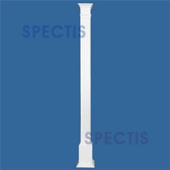 "FBCS8120 8"" x 120"" Structural Fluted Box Column"
