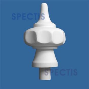 "FIN103 Spectis Urethane Finial 2 3/16"" x 7 1/4"""