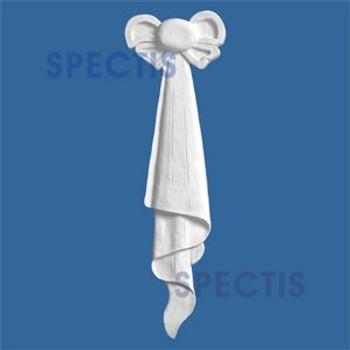 """FT3407 7"""" x 22 1/2"""" Spectis Urethane Left Tassel"""