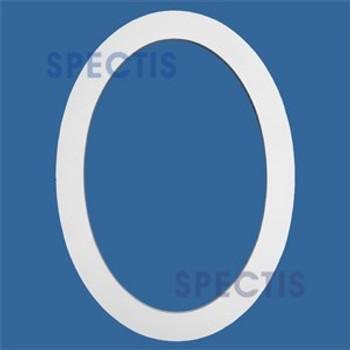 """FTO2234 Flat Oval Trim 22""""W X 34""""H"""
