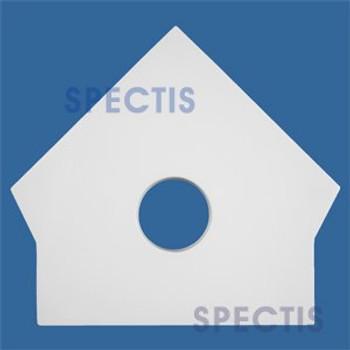 "GB3302 Spectis Urethane Gingerbread 9 1/8"" W x 8 1/4"" H"