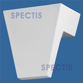 """K2712 Spectis Urethane Keystone 3 1/2""""P X 6""""H X 5 7/8""""W"""