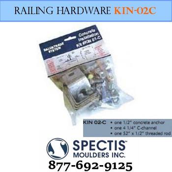KIN 02-C Concrete Anchor Hardware