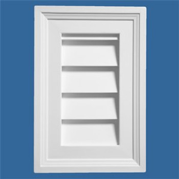 LCRT1624 Urethane Louvre Closed Rectangle 16 x 24