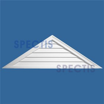 LCT4812 Urethane Louvre Closed Triangle 48 x 12