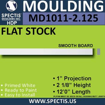 """MD1011-2.125 Spectis 1"""" Flat Trim 1""""P x 2 1/8""""H x 144""""L"""