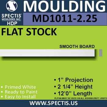 """MD1011-2.25 Spectis 1"""" Flat Trim 1""""P x 2 1/4""""H x 144""""L"""
