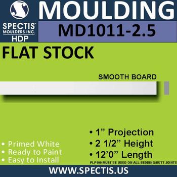 """MD1011-25 Spectis 1"""" Flat Trim 1""""P x 25""""H x 144""""L"""