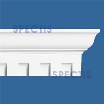 """MD1020 Spectis Molding Dentil Trim 3 3/8""""P x 6 1/2""""H x 144""""L"""